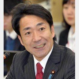 経産政務官を辞任(C)共同通信社