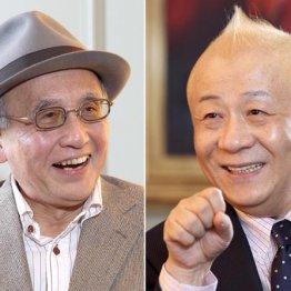 春風亭小朝(右)と吉川潮