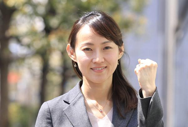 杉並区の候補予定者・茜ケ久保嘉代子さん(C)日刊ゲンダイ