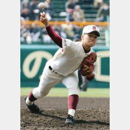 3試合連続完投した福岡大大湊エース三浦投手(C)日刊ゲンダイ