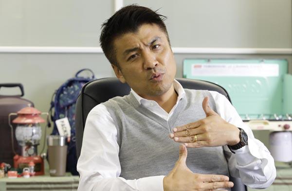 コールマンジャパン・中里豊社長(C)日刊ゲンダイ