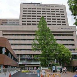 事件のあった東京医科歯科大歯学部付属病院