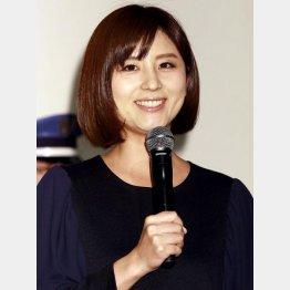 生放送で結婚発表した宇賀なつみアナ(C)日刊ゲンダイ