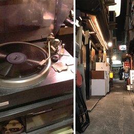 神楽坂の「みちくさ横丁」でジャズバー&居酒屋をハシゴ