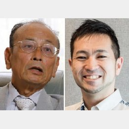 専門家たちと直接意見交換も/孫崎享氏(左)と小口幸人氏