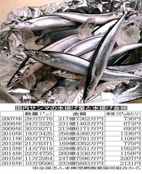 2年連続で水揚げ過去最低を更新(C)日刊ゲンダイ
