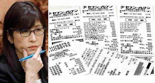 政治資金をお小遣いと勘違い(C)日刊ゲンダイ