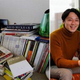 バド元五輪代表・池田信太郎さん 自宅の床には本がズラリ