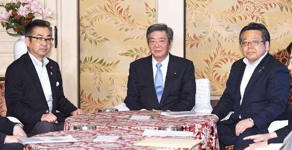 自公維の修正合意は茶番(3党の国対委員長)/(C)共同通信社