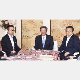 自公維の修正合意は茶番(3党の国対委員長)