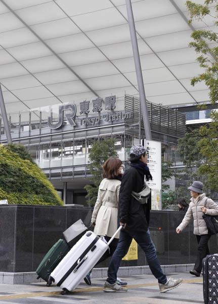 エビ党は東京駅八重洲口へ急ぐべし(C)日刊ゲンダイ