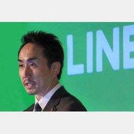 LINEとの関係も強化(C)日刊ゲンダイ
