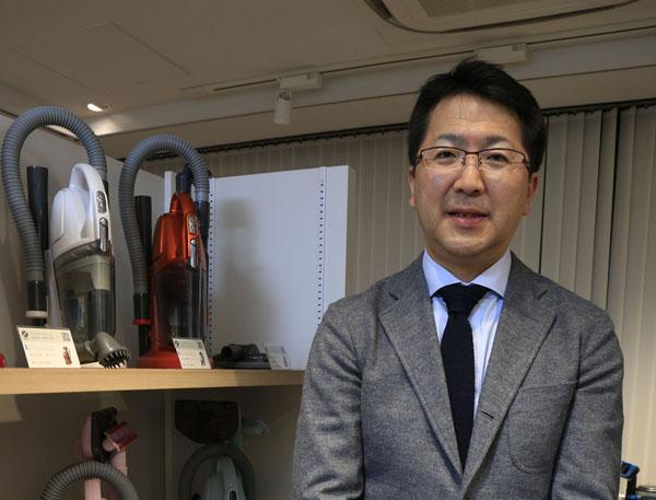 ツインバード工業の野水重明社長(C)日刊ゲンダイ