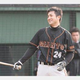07年、由伸は「1番」という打順に緊張していた(C)日刊ゲンダイ