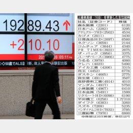 2万円の大台回復へ(C)日刊ゲンダイ