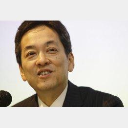 大西氏の後を受けた杉江俊彦社長(C)日刊ゲンダイ