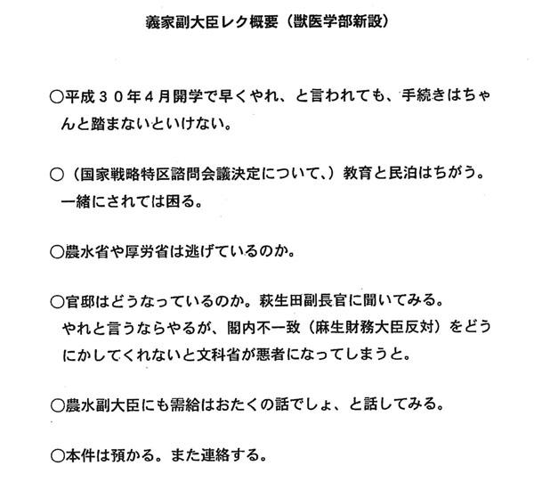 総理の意向文書②(C)日刊ゲンダイ