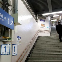 犯行現場のJR甲子園口駅