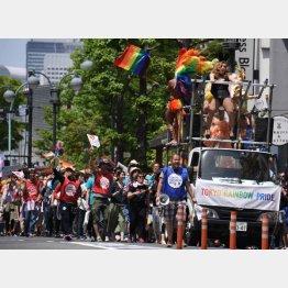 渋谷のイベントは大盛況だった(C)日刊ゲンダイ