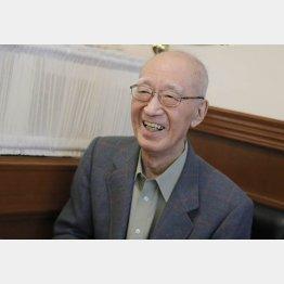 半藤一利さん(C)日刊ゲンダイ