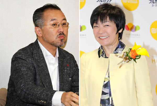 山口敬之氏(左)と安倍昭恵首相夫人/(C)日刊ゲンダイ