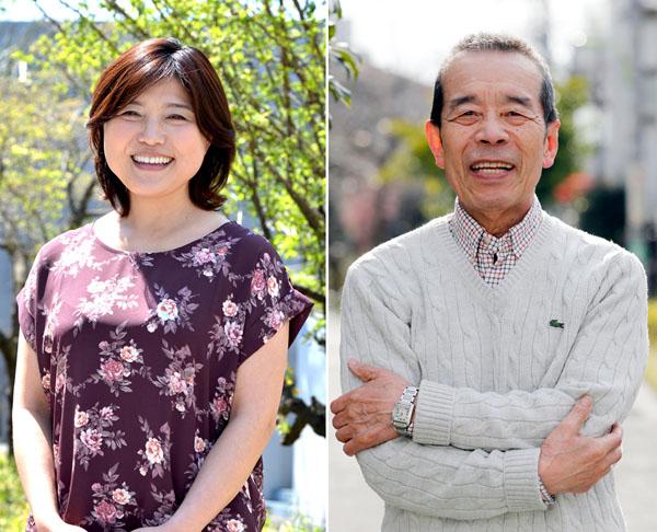 林家きく姫さんと林家木久扇さん(提供写真)