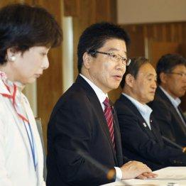 AV強要取り締まり強化・対策会議での加藤男女共同参画相と菅長官