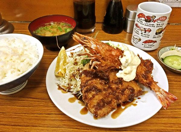 「八千代」のC定食(C)日刊ゲンダイ