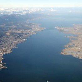 琵琶湖は数百年かけて北に移動している