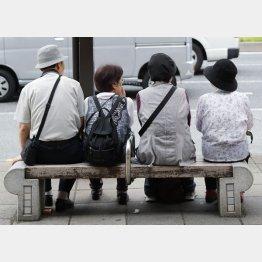 人手不足の真の原因は団塊世代の完全引退(C)日刊ゲンダイ