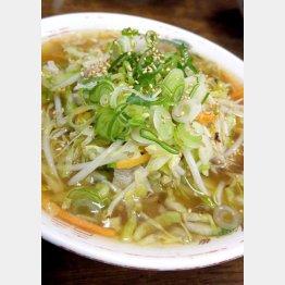 野菜たっぷり(C)日刊ゲンダイ