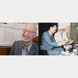 司馬遼太郎の結婚秘話を聞いたことも(C)日刊ゲンダイ