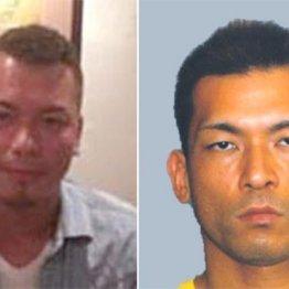 金塊強奪事件で逮捕された野口和樹容疑者(弟=左)と指名手配中の直樹容疑者(兄=右)