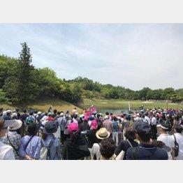 藍ちゃん効果で盛り上がった今年の中京テレビBSレディス(提供写真)