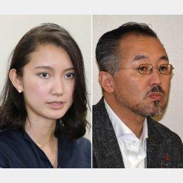 レイプ被害を訴えた詩織さん(左)と山口敬之氏(C)日刊ゲンダイ