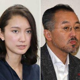 レイプ被害を訴えた詩織さん(左)と山口敬之氏