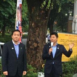 【昭島市】民進党を離党した長島昭久氏の元秘書が優勢