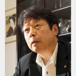 野田内閣時代に法務大臣を務めた(C)日刊ゲンダイ