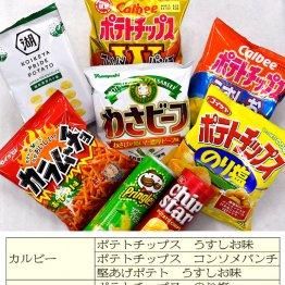 お菓子勉強家・松林千宏さんが薦めるポテトチップス10