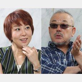 室井佑月さんと井筒和幸監督(C)日刊ゲンダイ