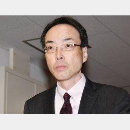 職員にも導入(森金融庁長官)/(C)日刊ゲンダイ