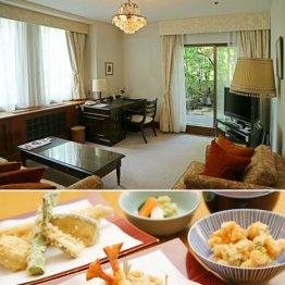 多く作家が定宿にした「山の上ホテル」の程のいい天ぷら