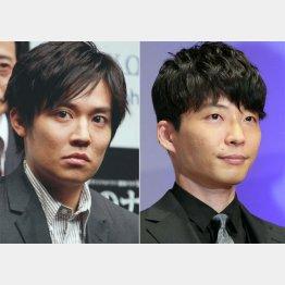 同じ事務所の星野源(右)はトバッチリ(C)日刊ゲンダイ