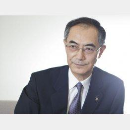 """""""中興の祖""""吉原氏/(C)日刊ゲンダイ"""