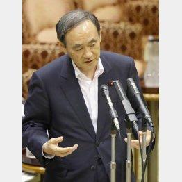 「怪文書」の発言撤回はなし(C)日刊ゲンダイ