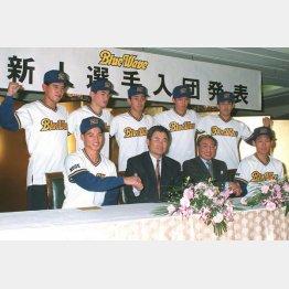 91年~93年に指揮を執ったのは土井監督(C)共同通信社