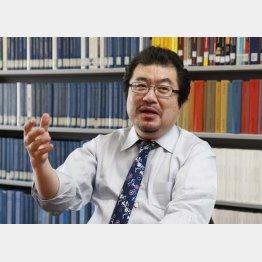 国学院大学文学部の高橋昌一郎教授(C)日刊ゲンダイ