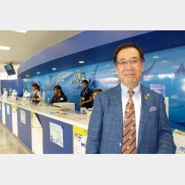 沖縄ツーリストの東良和会長(C)日刊ゲンダイ