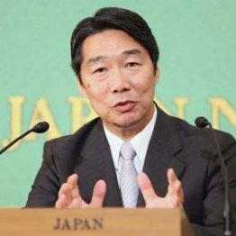 日本記者クラブで会見した前川喜平前文科次官