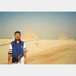 2000年9月、40歳のころの東会長(提供写真)